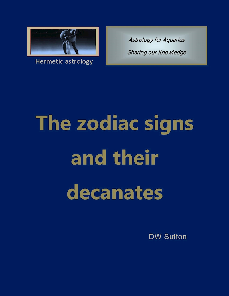 The zodiac signs and their decanates