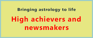 High achievers and newsmakers